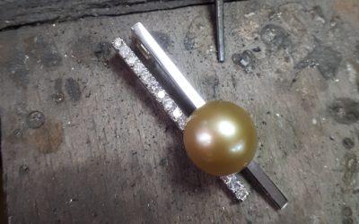 Perle dorée des mers du Sud